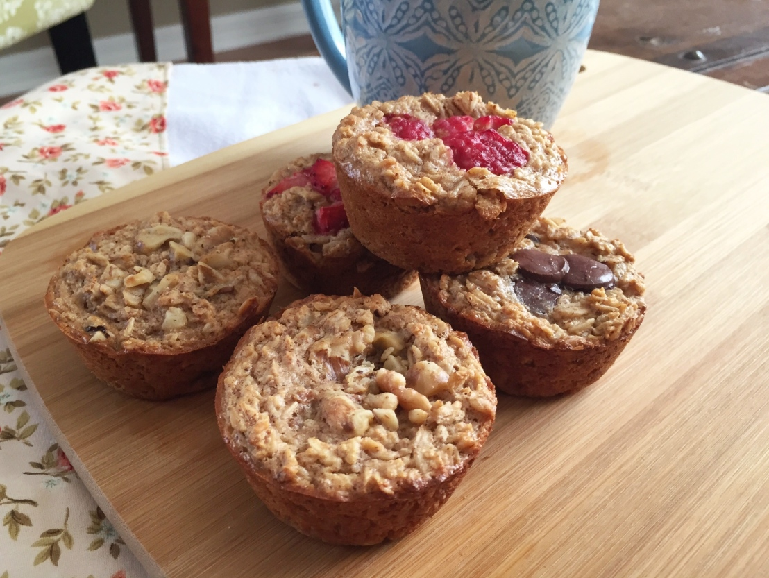 Grab and Go: OatmealCups