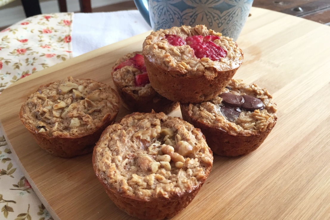 Grab and Go: Oatmeal Cups
