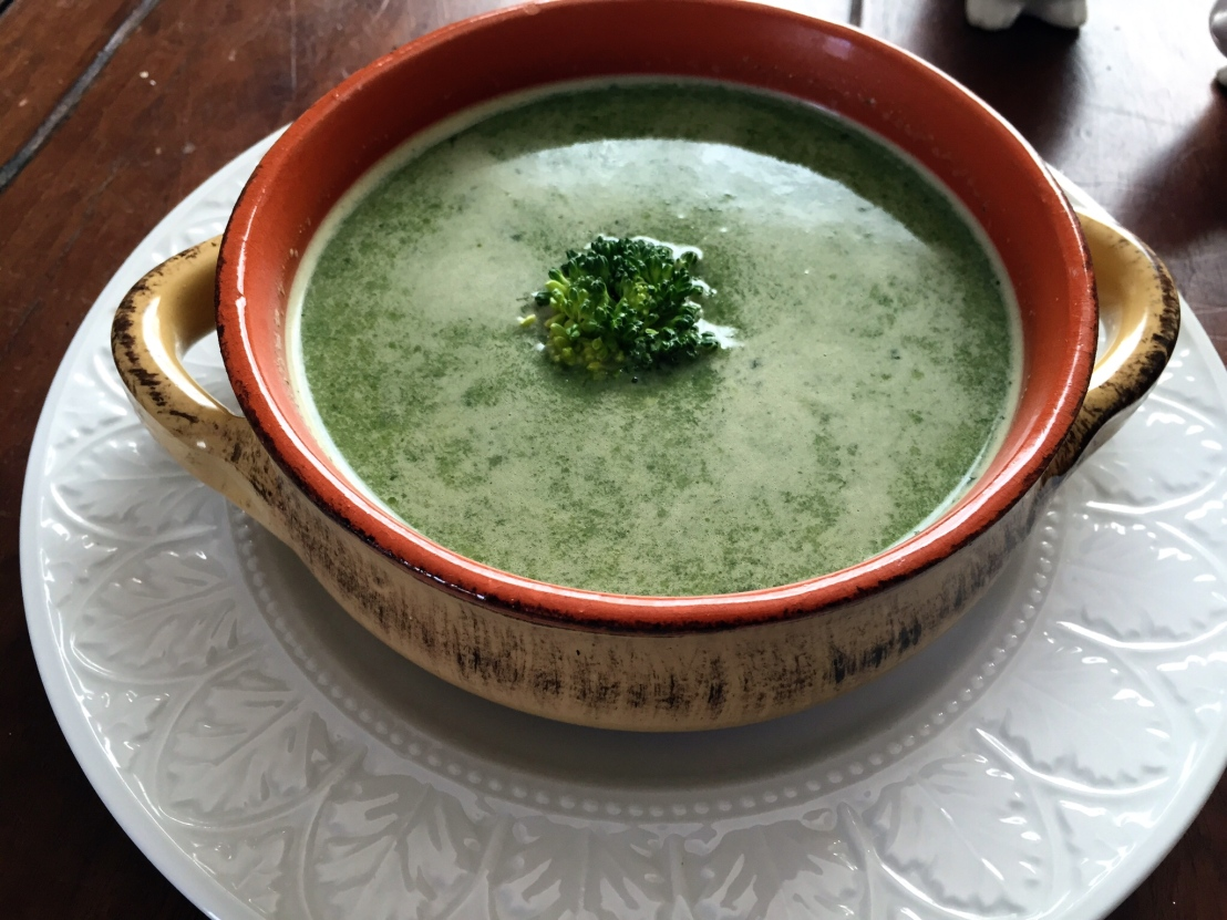Powerful Greens Soup withTahini