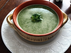 Tahini Greens Soup