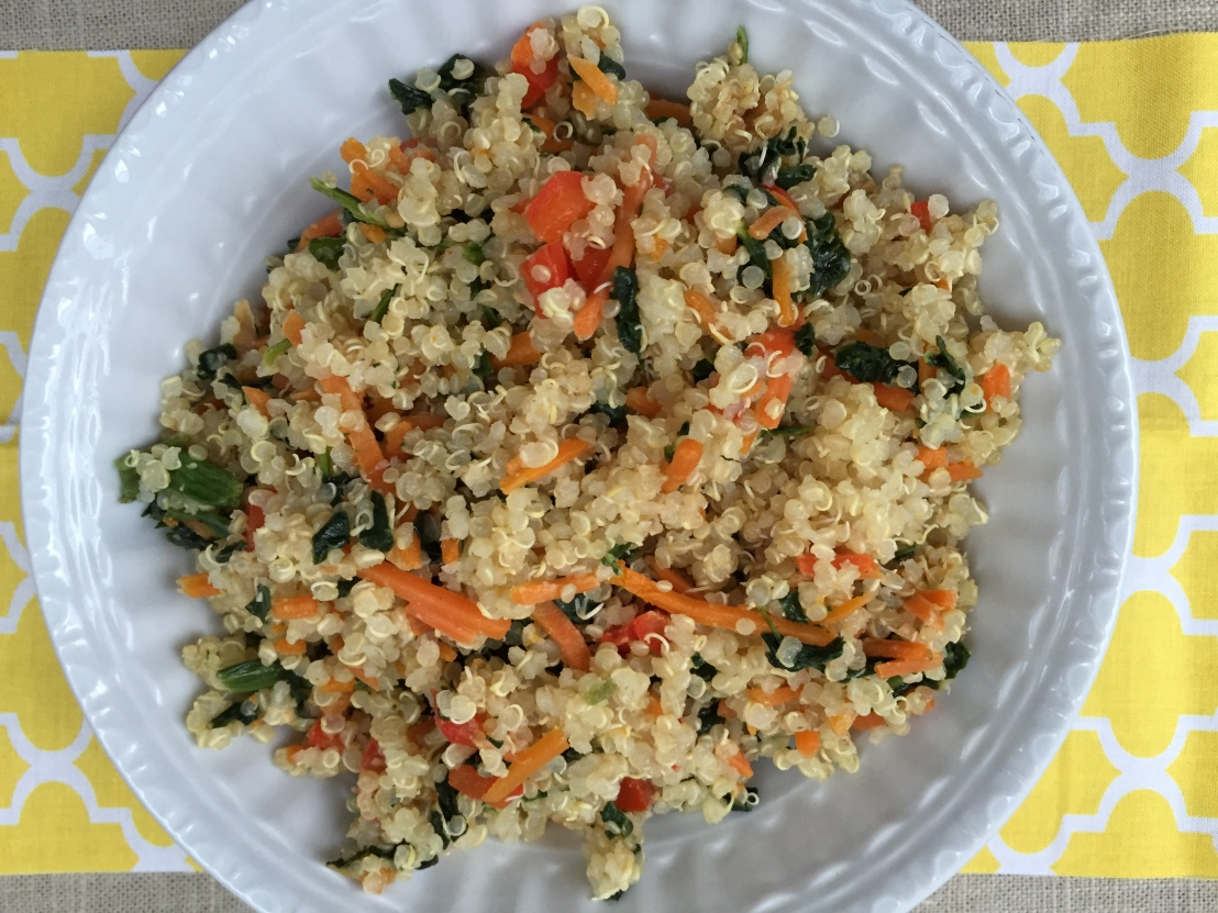 One Bowl Quinoa Dinner: Ready inminutes!