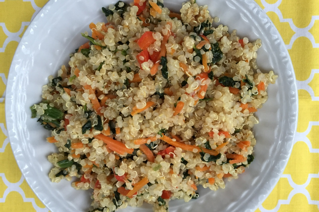 One Bowl Quinoa Dinner: Ready in minutes!