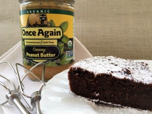 Grain Free Chocolate Peanut Butter Fudge Brownie