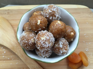 Tahini Power Bites see full recipe on Once Again Nut Butter Blog