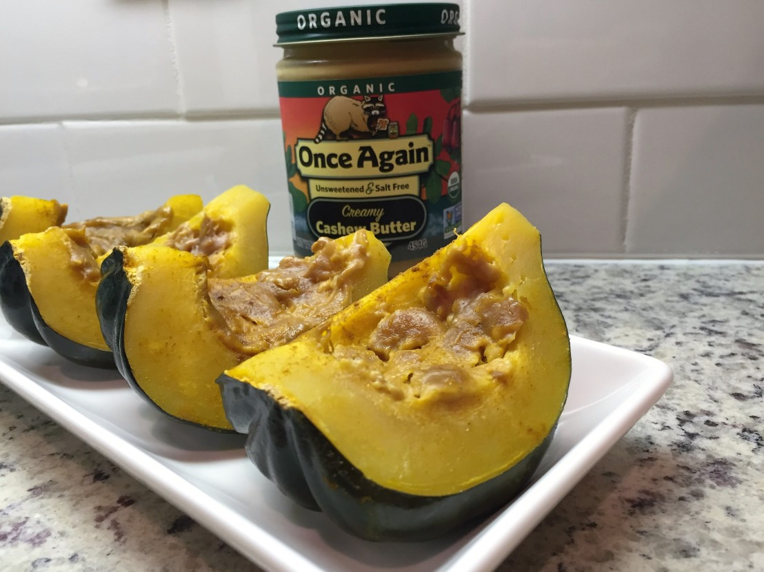 Slow Cooker Acorn Squash www.onceagainnutbutterblog.com