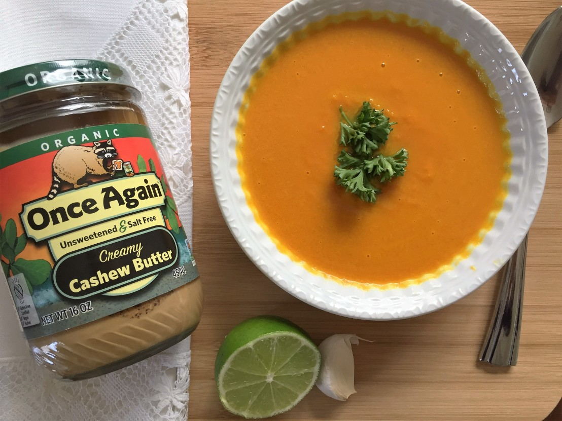 Creamy Carrot Soup from Once Again Nut Butter