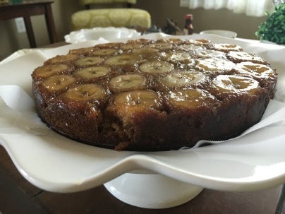 Upside Down Banana Cake by Once Again Nut Butter