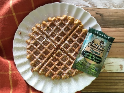 Pumpkin Waffles from Once AGain Nut Butter