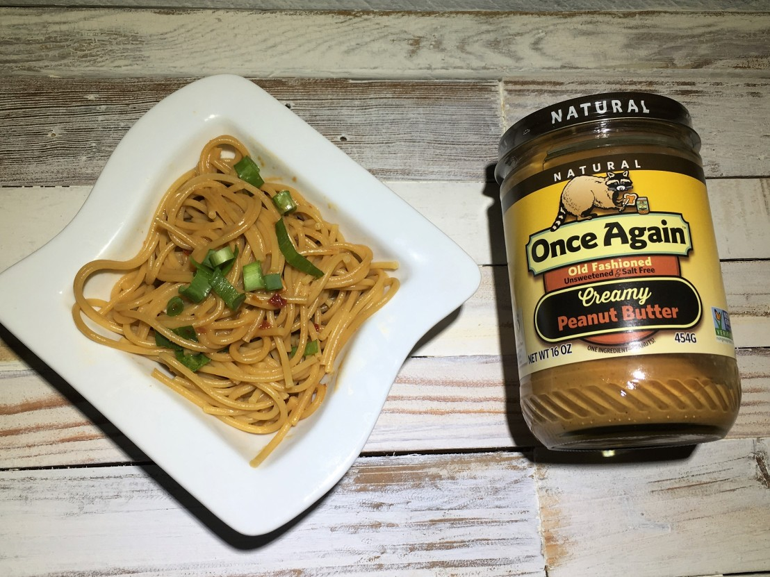 Spicy Peanut Noodles by Once Again Nut Butter