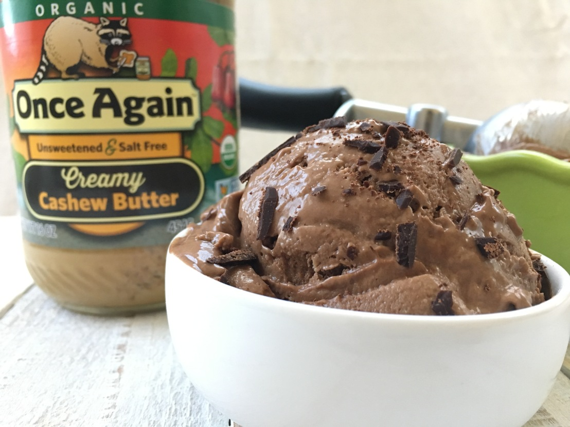 2-Steps Creamy Ice Cream from Once Again Nut butter